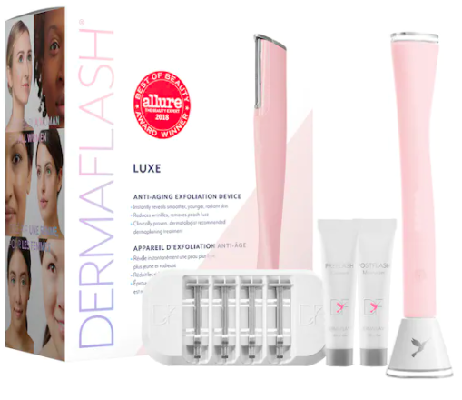 Dermaflash Luxe Anti-Aging Dermaplaning Exfoliation Device