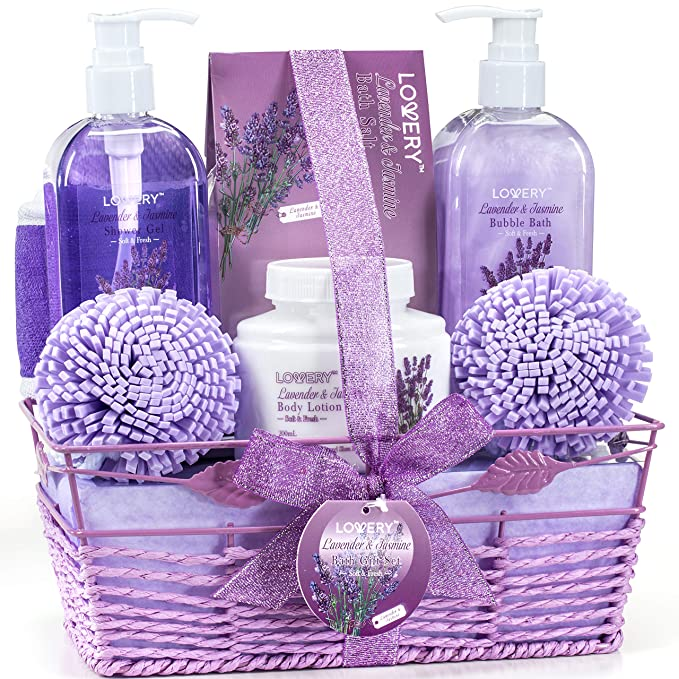 Lovery Home Spa Gift Baskets