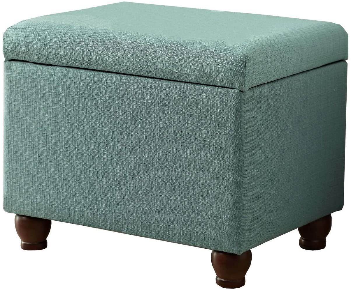HomePop Rectangular Deep Storage Ottoman