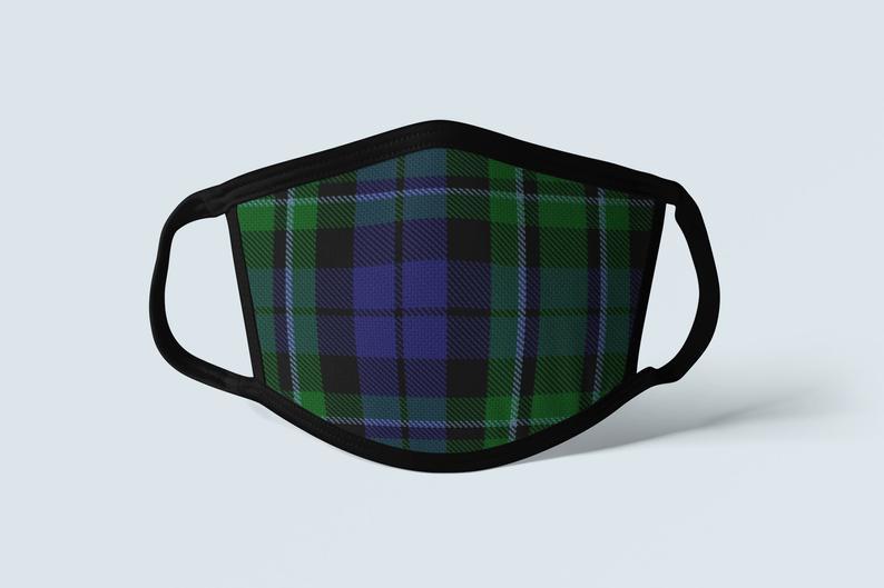 Alba Forged Clan MacCallum Tartan Face Mask