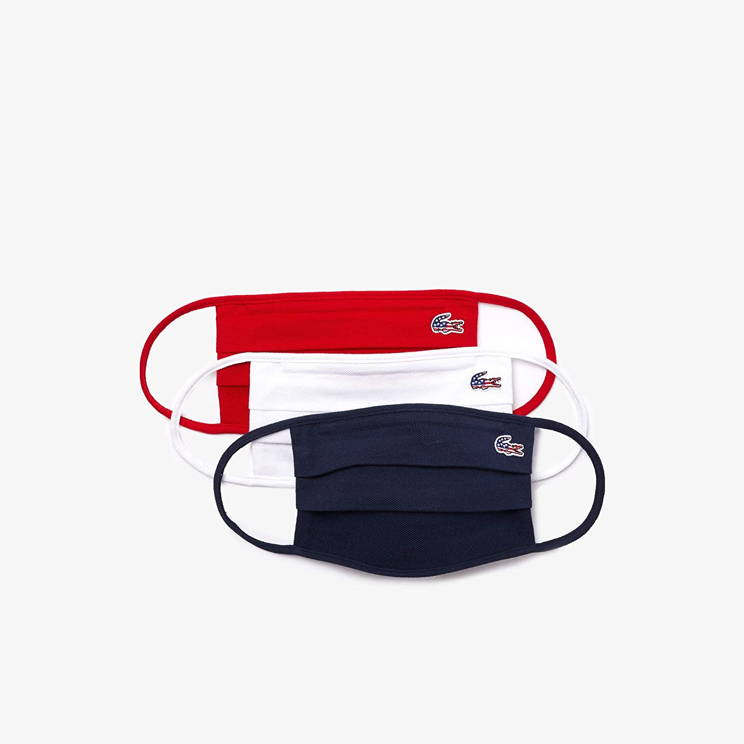 Lacoste Cotton Piqué Face Mask