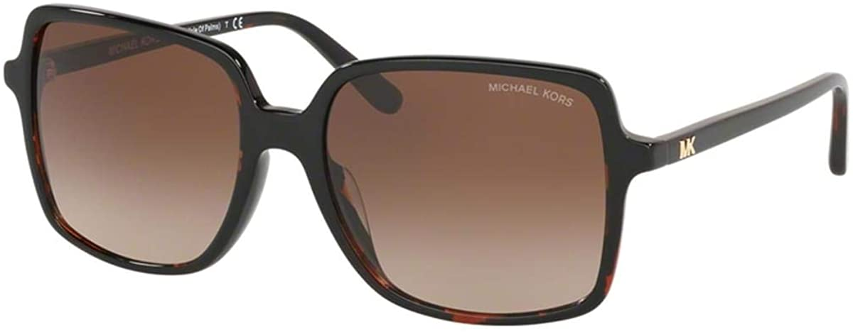 Michael Kors MK2098U 378113 Brown Tortoise Isle Of Palms Square Sunglasses