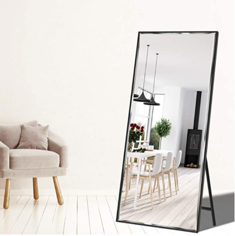 "Full Length 65""x23.6"" Standing Mirror"