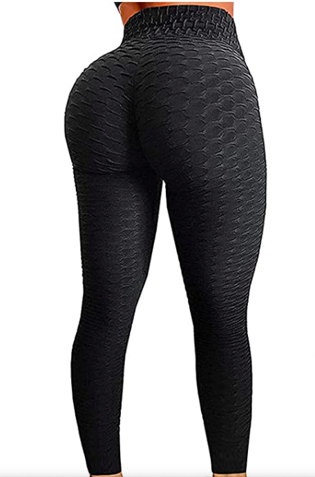 SEASUM Women's High Waist Butt Lifting Leggings