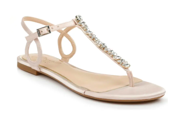 Jewel Badgley Mischka Natalie Embellished Sandal