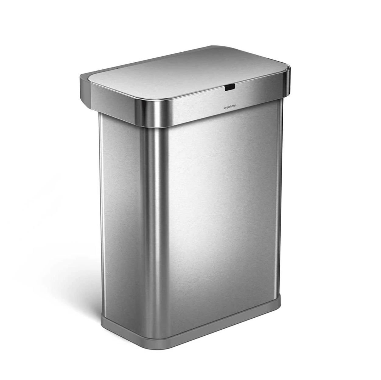 Simplehuman voice + motion sensor trash can