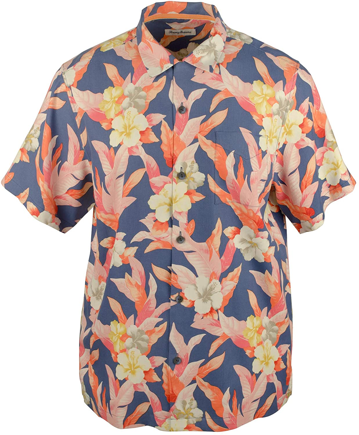 Tommy Bahama Hibiscus Sunset Silk Camp Shirt