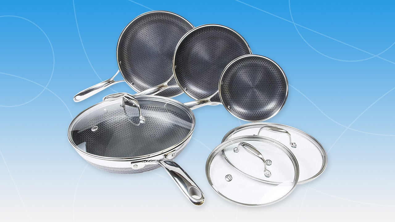 HexClad Frying Pans and Cookware