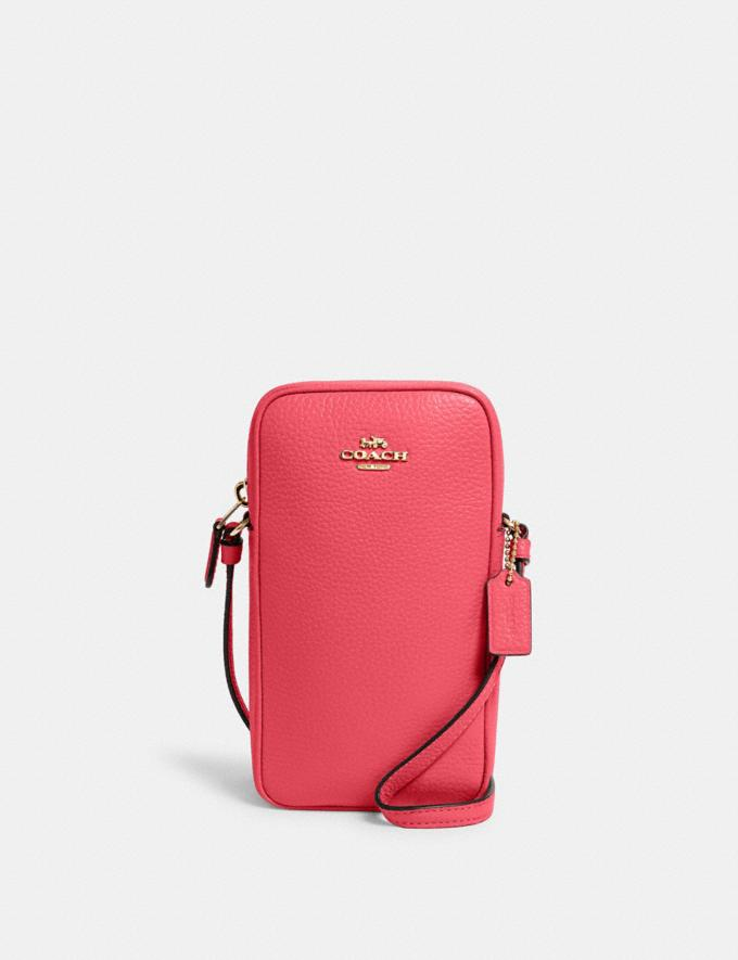Coach North/South Zip Crossbody