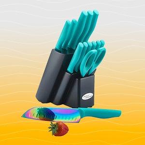Marco Almond Rainbow Knife Set