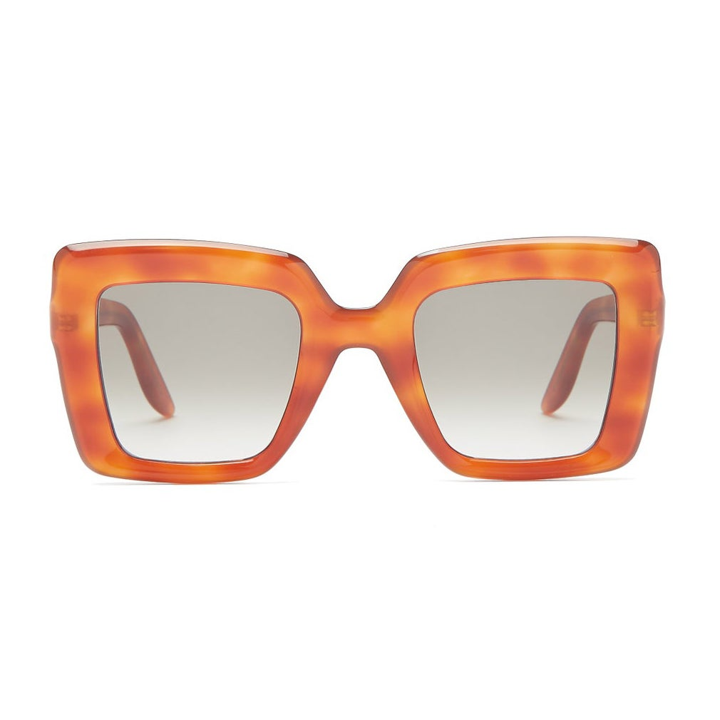 Lapima Teresa Oversized Square Acetate Sunglasses