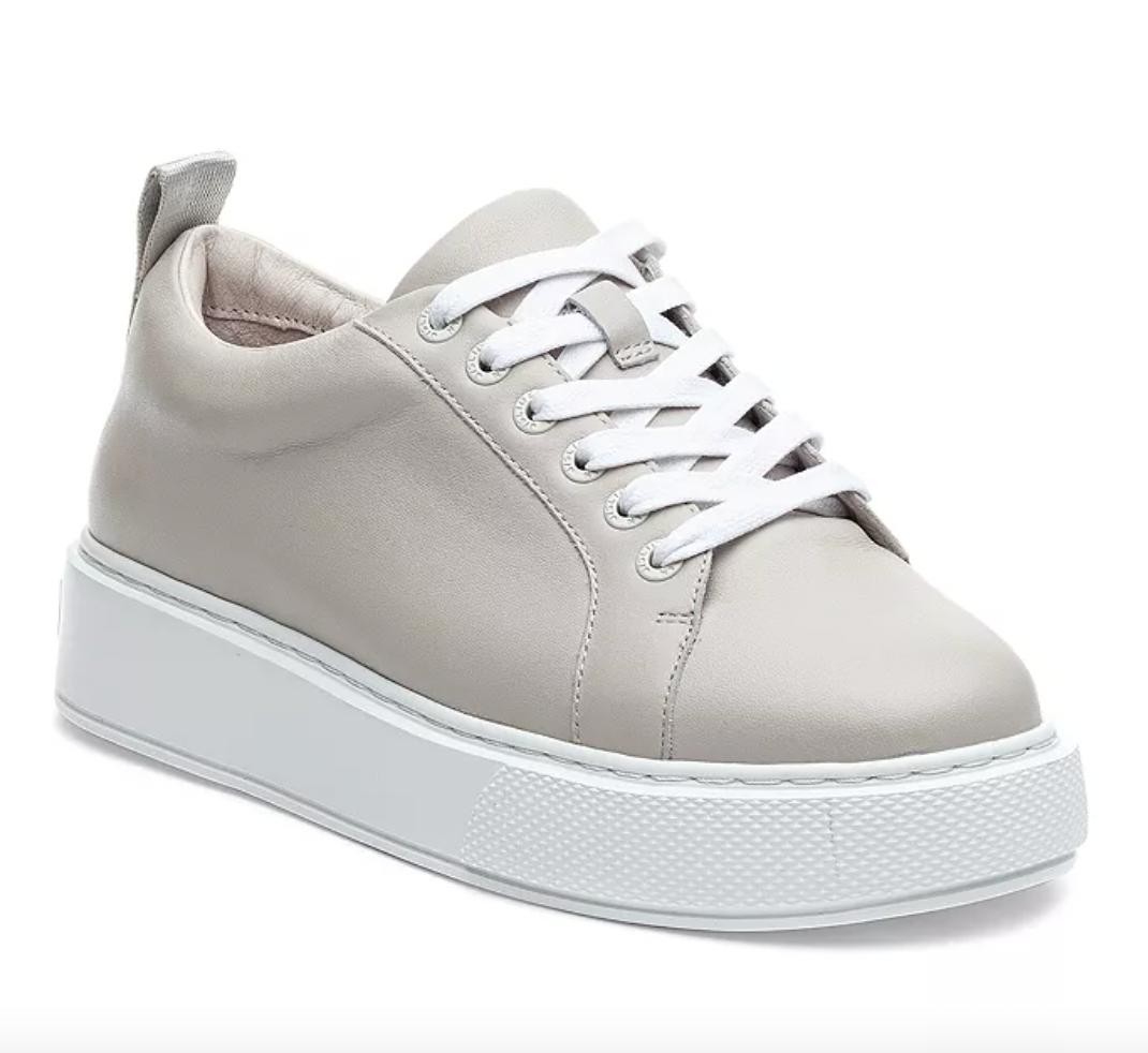 J/Slides Women's Delilah Lace Up Sneakers