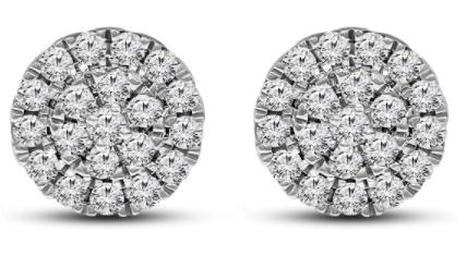 Friendly Diamonds IGI Certified Lab Grown Diamond Earrings