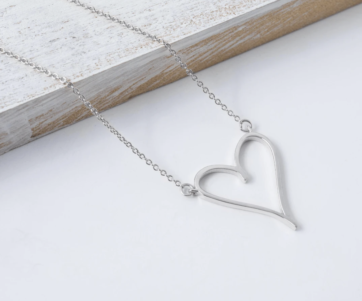 Capsul Custom Heart Necklace