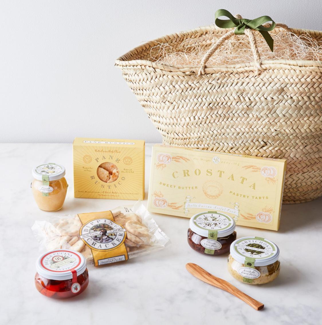 Food52 Italian Antipasti Basket Gift Set