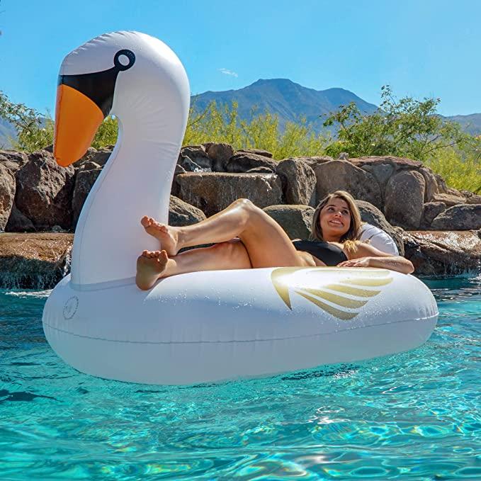 GoFloats Giant Inflatable Pool Floats
