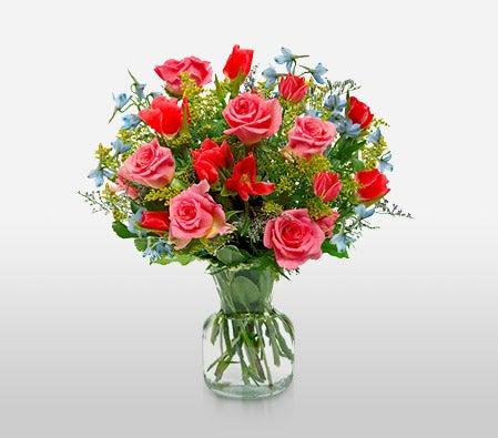 Flora2000 Mayflower Mixed Flowers Bouquet