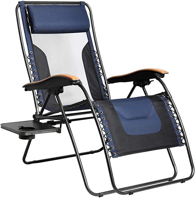 PORTAL Oversized Mesh Back Zero Gravity Recliner Chair