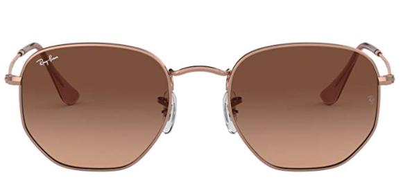 Ray-Ban RB3548N Hexagonal Flat Lenses Sunglasses
