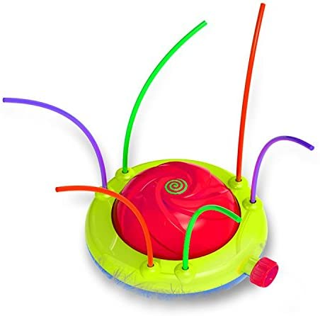 Tidal Storm Hydro Swirl Spinning Water Sprinkler Toy for Kids Outdoor Play