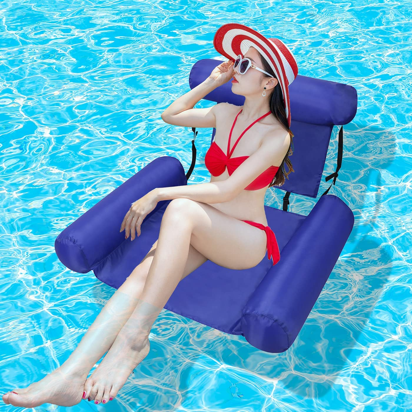 Water Pool Lounge Chair Float for Adults