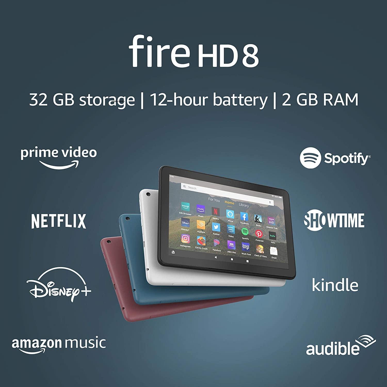 """Fire HD 8 tablet, 8"""" HD display"""