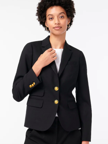 J.Crew Dalton Blazer in Italian Stretch Wool