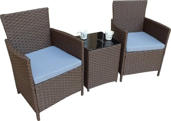 Andover Mills Pendergast 3 Piece Seating Group with Cushions
