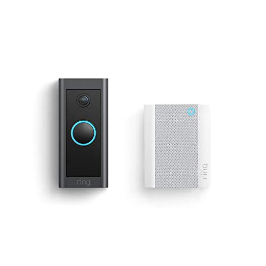 Ring Video Doorbell Wired with Ring Chime
