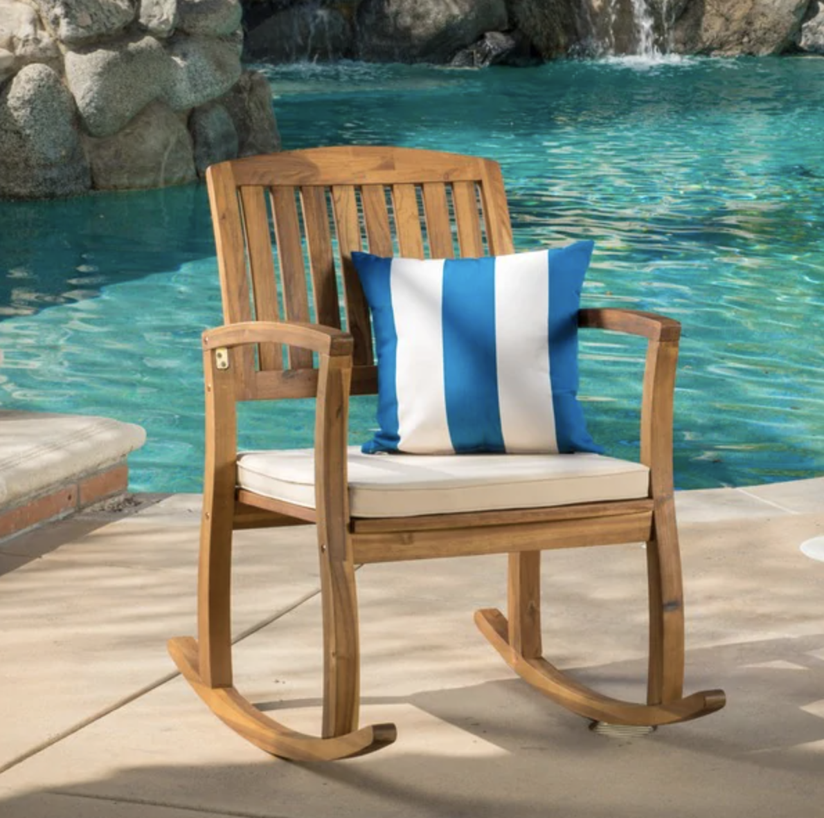 Christopher Knight Home Lucca Outdoor Rocking Chair