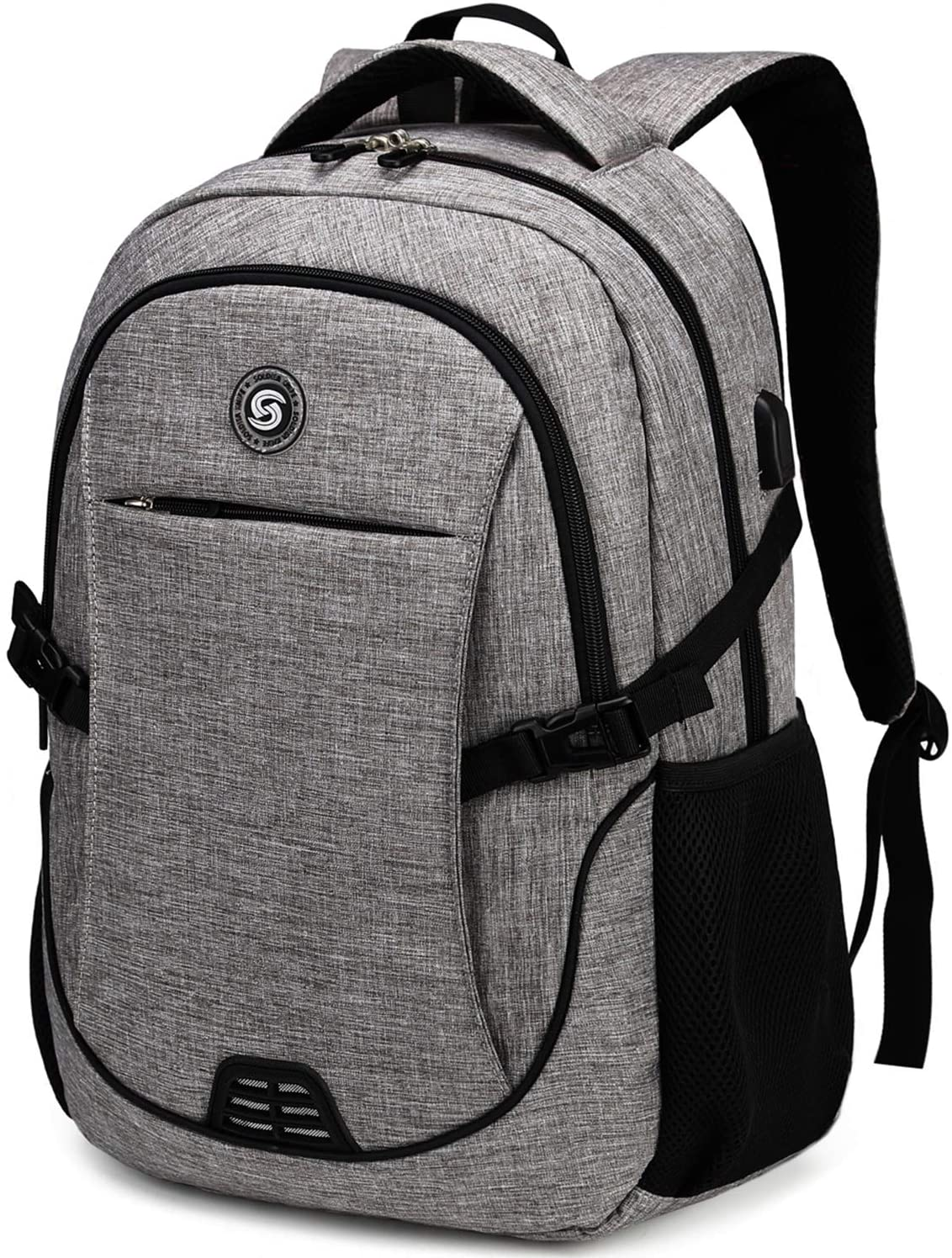 SHRRADOO Anti Theft Laptop Backpack Travel Backpacks Bookbag with usb Charging Port