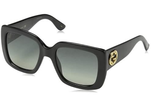 Gucci GG0141S 001 Black GG0141S Square Sunglasses