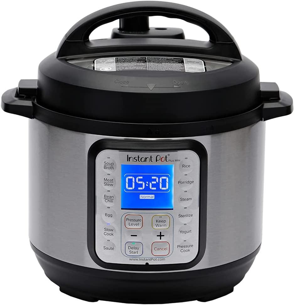 Instant Pot Duo Plus Mini 3 Quart 9-in-1 Electric Pressure Cooker