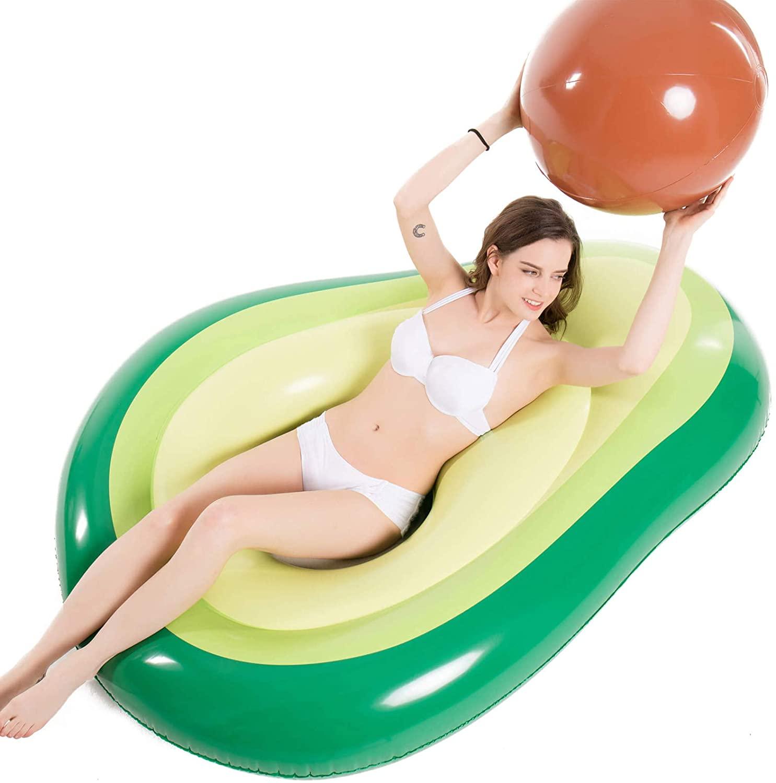 Jasonwell Inflatable Avocado Pool Float Floatie