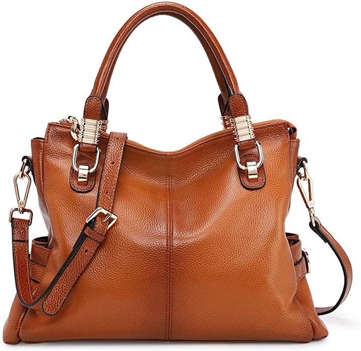 Kattee Women's Genuine Leather Shoulder Bag