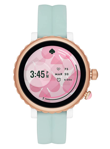 Kate Spade Scallop Sport Metal and Silicone Touchscreen Smartwatch