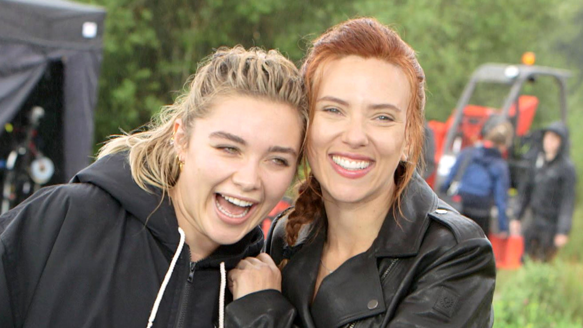 Scarlett Johansson and Florence Pugh Black Widow cast