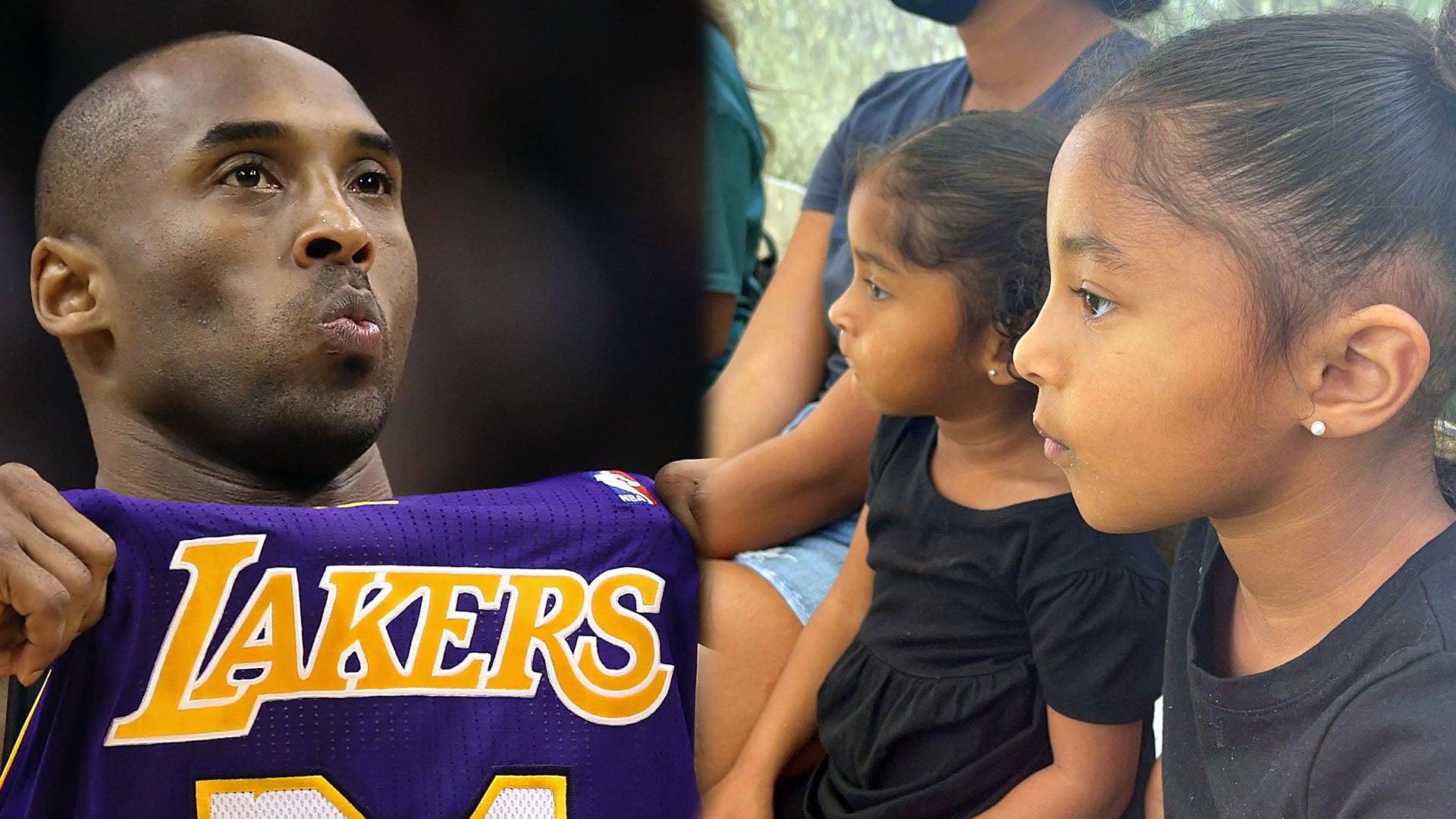 Kobe Bryant's Daughter Capri Wears Her Late Sister Gianna's Jersey ...