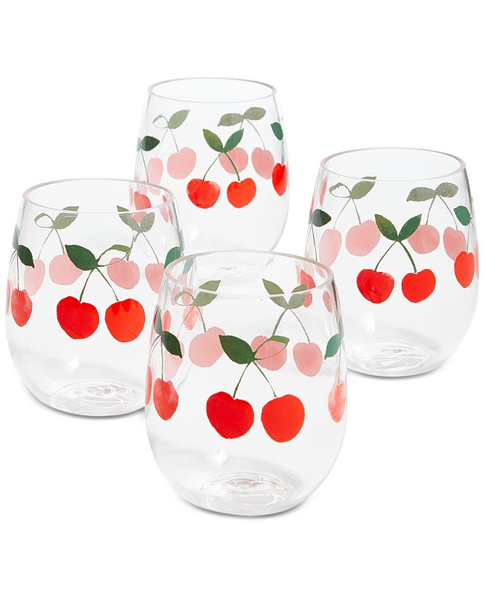 Cherry people     vino  glasses