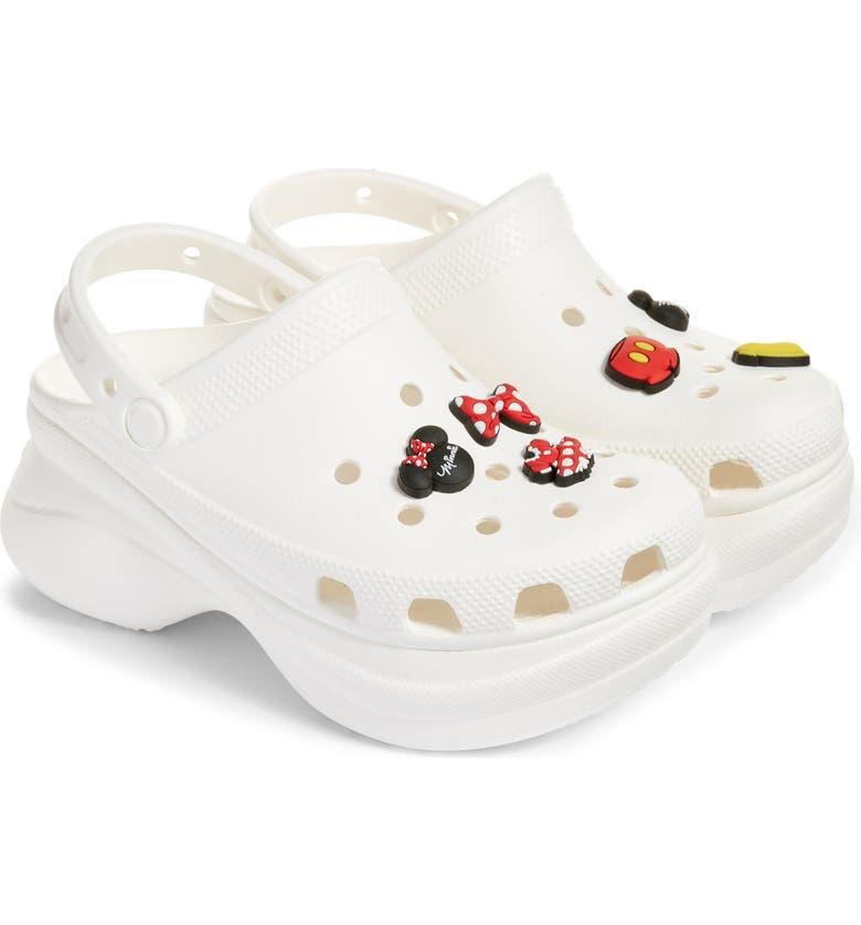 Disney x CROCS Bae Clog & 6-Pack Mickey & Minnie Jibbitz Shoe Charms