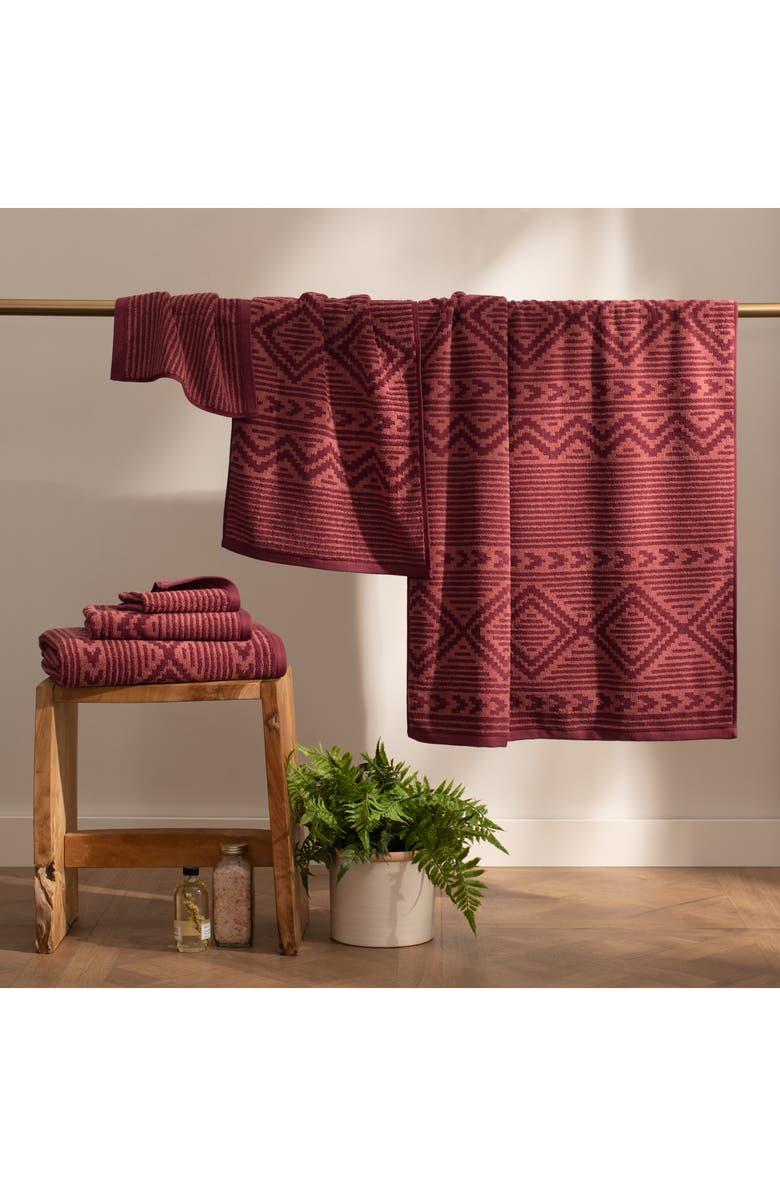 Ganado Stripe 6-Piece Towel Set