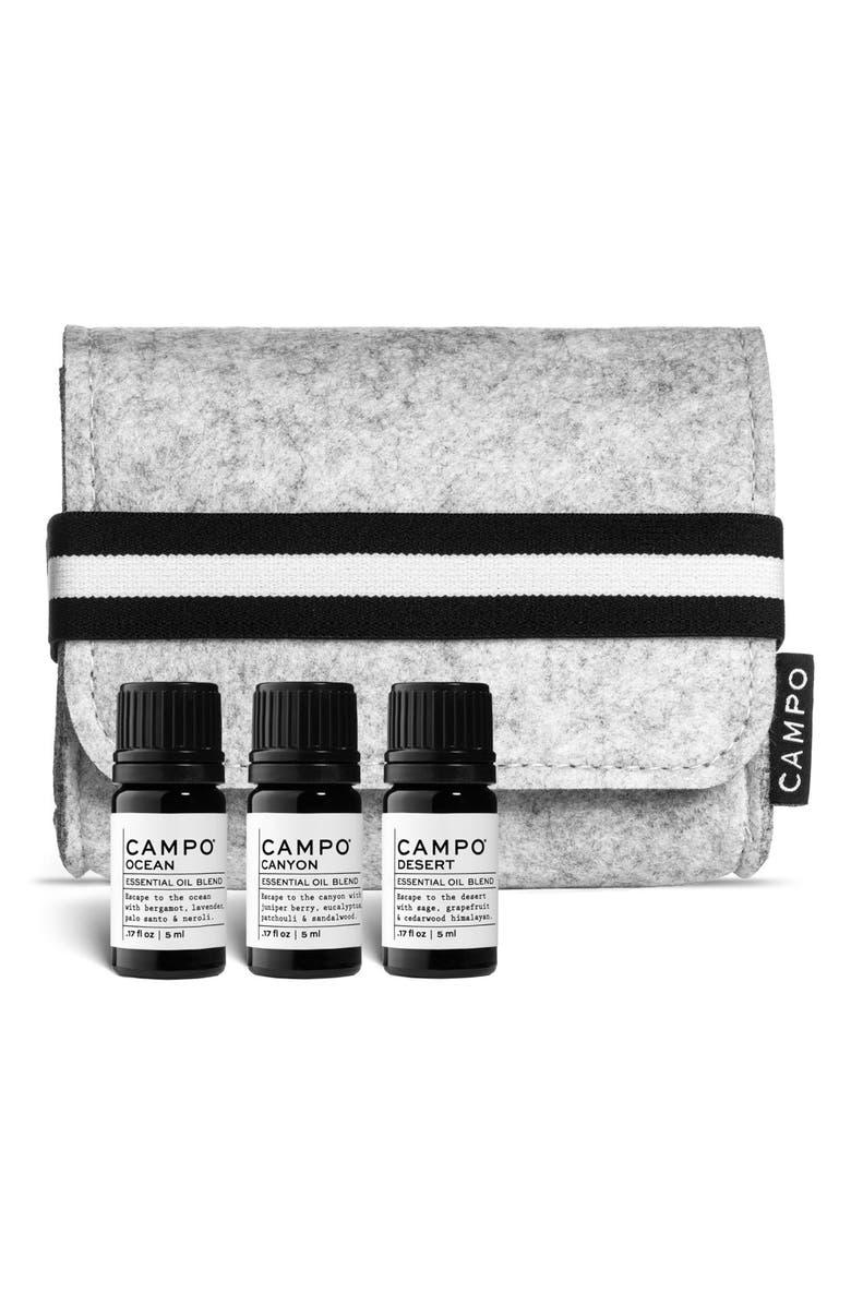 Campo Pure Destination Set of 3 Essential Oils