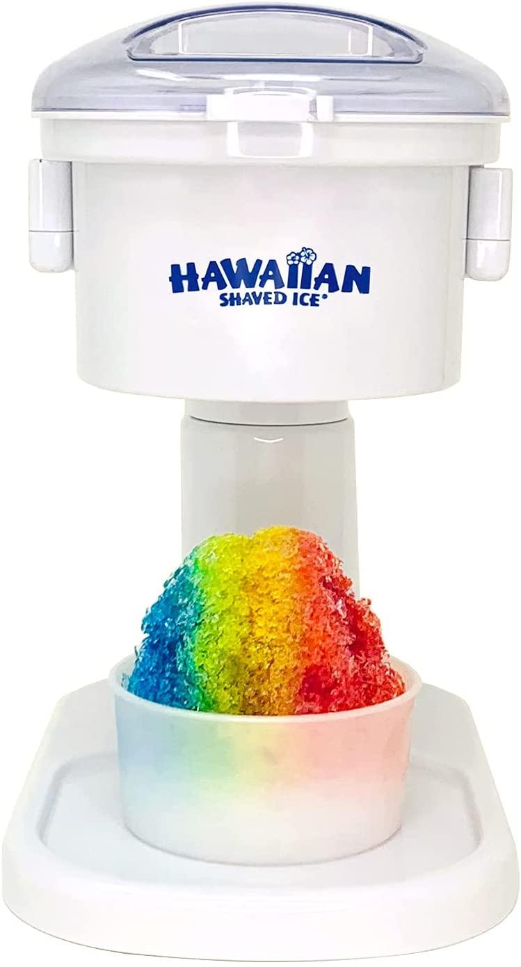 Hawaiian Shaved Ice Snow Cone Machine