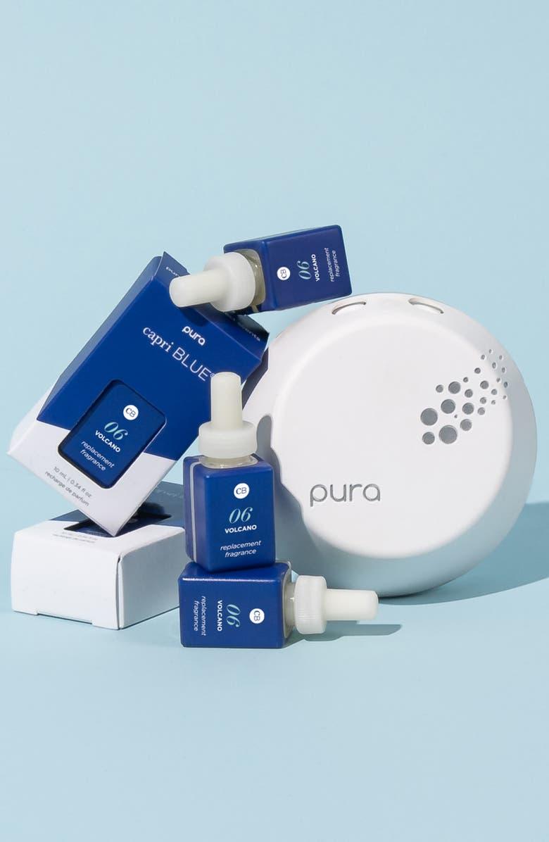 Pura x Capri Blue Smart Home Diffuser & Fragrance Set