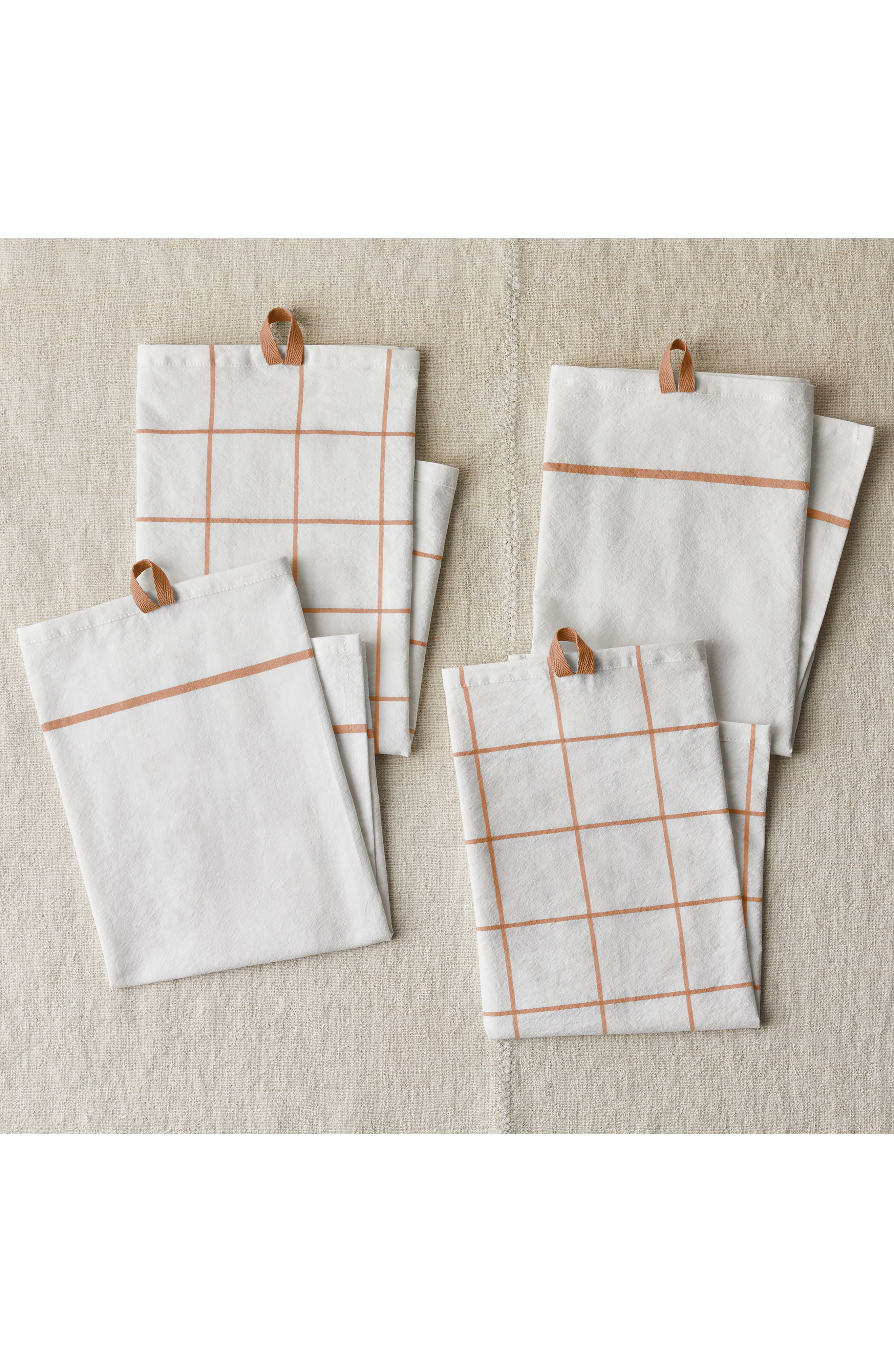 Essential Set of 4 Flour Sack Kitchen Towels - Food52