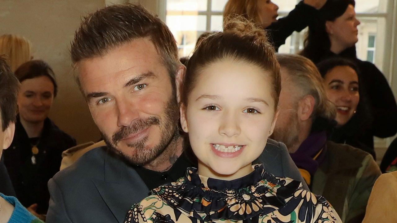 David Beckham Harper Beckham