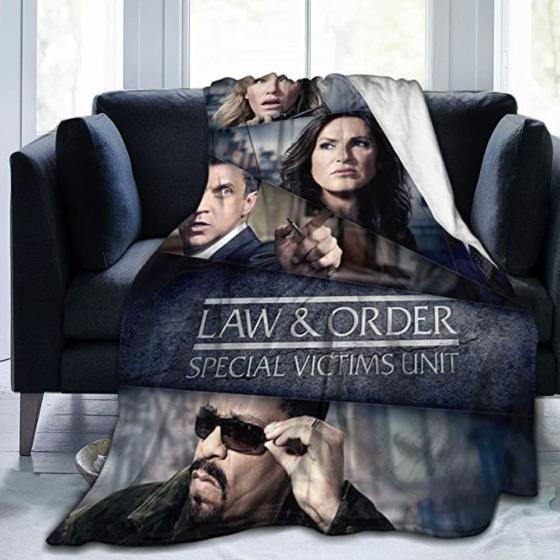 Law And Order Svu Novelty Blanket Novelty Blanket Flannel Blankets Luxury Ultra Soft Microfiber Blanket