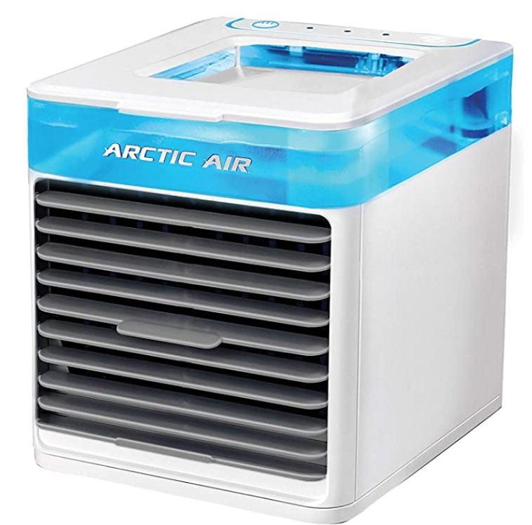 Ontel Arctic Air Pure Chill Evaporative Ultra Portable Personal Air Cooler with 4-Speed Air Vent.png