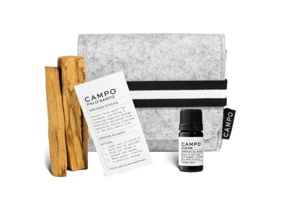 Campo Palo Santo Smudge Sticks & Ocean Essential Oil Set