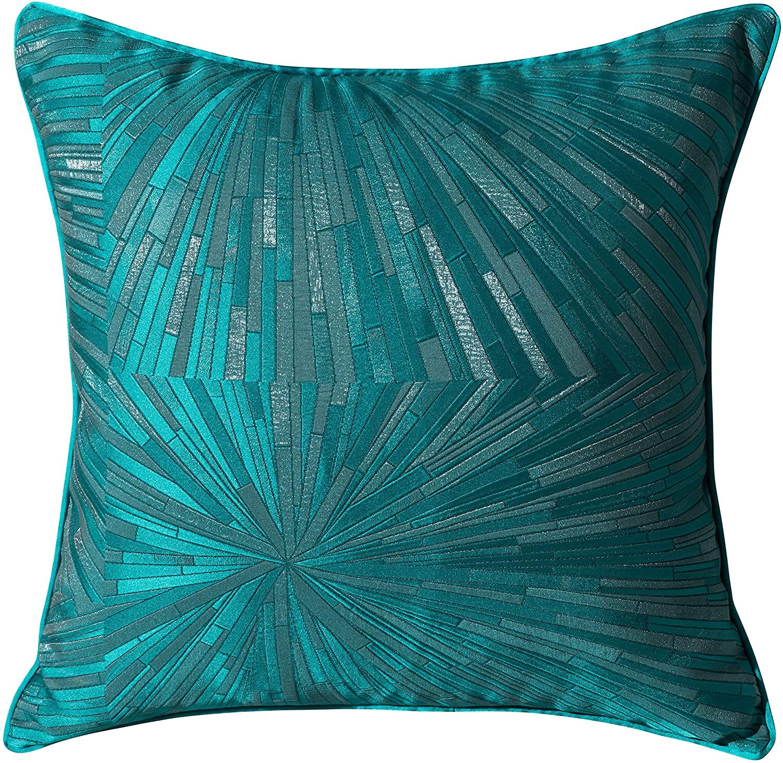 YONGLIU Luxury Jacquard Throw Pillow Cover